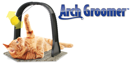 arch cat groomer logo